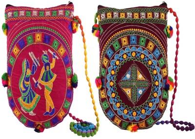 KUBER INDUSTRIES Multicolor Sling Bag