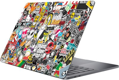 GADGETS WRAP MCBK-GW13895 - Printed sticker bomb Skin Top Only For 13 inch Pro Non Retina Vinyl Laptop Decal 13