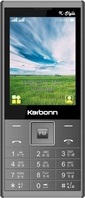 Karbonn K-Stylo(Brushed Grey)