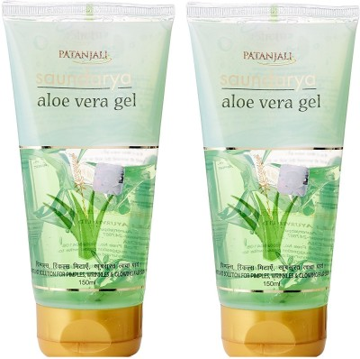 Patanjali Saundarya Aloe Vera Gel 150ml (Pack of 2)(150 ml)