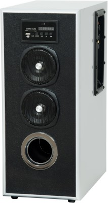 Obage MT600 35 W Bluetooth Tower Speaker(Silver, Stereo Channel)