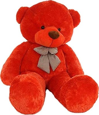 Lovehug 3 Feet Teddy Bear  Red    91 cm  Red    91 cm Red Lovehug Soft Toys