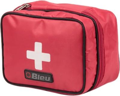 Bleu Utility Kit   First Aid Travel Toiletry Kit Red