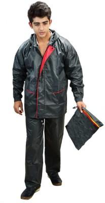 JKS Solid Men Raincoat