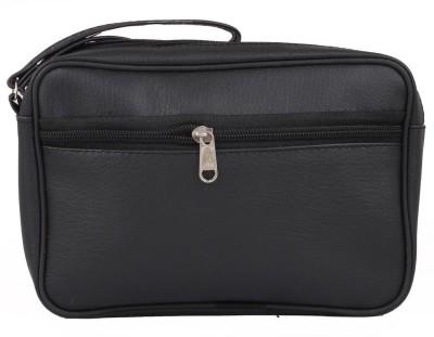 PSH Bag Travel Pouch Black Color (8.5 x 5.5 Inch) Travel Shaving Bag(Black)