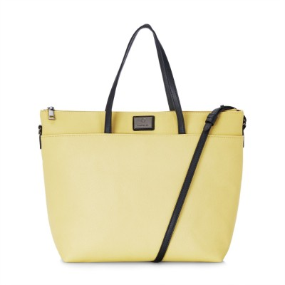 Caprese Women Yellow Tote at flipkart