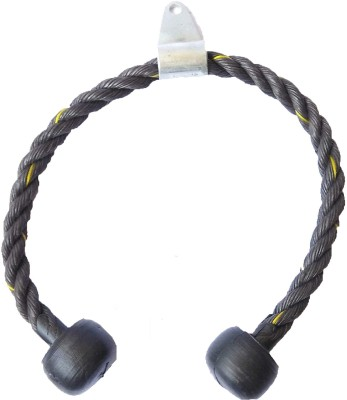Arnav Indian Tricep Rope Triceps Bar(Black)
