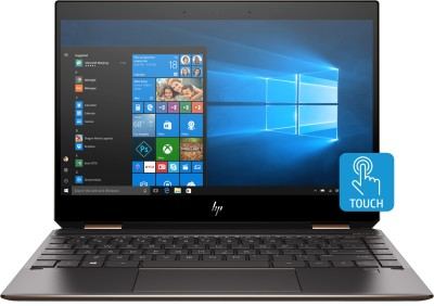 HP Spectre x360 Core i7 8th Gen - (16 GB/512 GB SSD/Windows 10 Home) 13-ap0101TU 2 in 1 Laptop(13.3 inch, Dark Ash Silver, 1.32 kg, With MS Office)