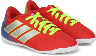 ADIDAS Boys Lace Football Shoes Red ADIDAS Sports Shoes