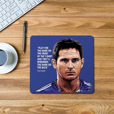 100yellow Frank Lampard Printed Mouse Pad Mousepad(Multicolor)