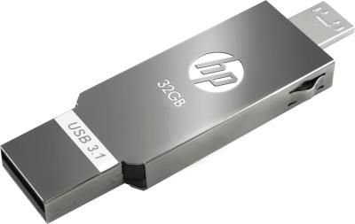 SanDisk SDDD3-032G-I35GW 32 GB OTG Drive(Gold, Type A to Micro USB)