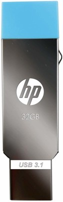 HP X302M 32 OTG Drive(Silver, Type A to Micro USB)