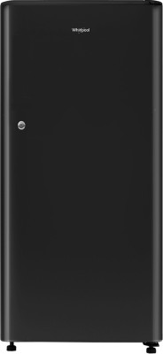 Whirlpool 190 L Direct Cool Single Door 3 Star Refrigerator   Solid Black, WDE 205 CLS 3S Black  Whirlpool Refrigerators