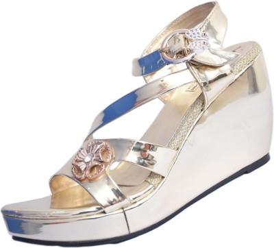 Lifter Women Silver Wedges