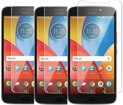 KITE DIGITAL Tempered Glass Guard for Motorola Moto E4 Plus(Pack of 3)