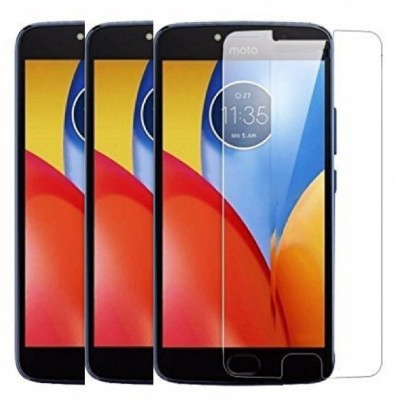 KITE DIGITAL Tempered Glass Guard for Motorola Moto E4 Plus(Pack of 3)