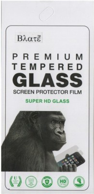 Blate Tempered Glass Guard for Micromax Canvas HD A116(Pack of 1)