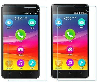 KITE DIGITAL Tempered Glass Guard for MICROMAX BHARAT 2(Pack of 2)