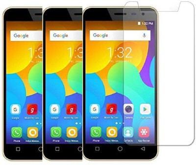 KITE DIGITAL Tempered Glass Guard for MICROMAX BHARAT 3(Pack of 3)