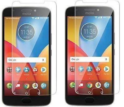 KITE DIGITAL Tempered Glass Guard for Motorola Moto E4 Plus(Pack of 2)