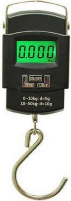 Gadget Hero's Hanging 50 kg portable kitchen weight scale Weighing Scale (Black) Weighing Scale(Black)
