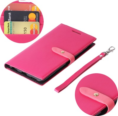 mobii care Flip Cover for Samsung Galaxy M20(pink, Shock Proof)