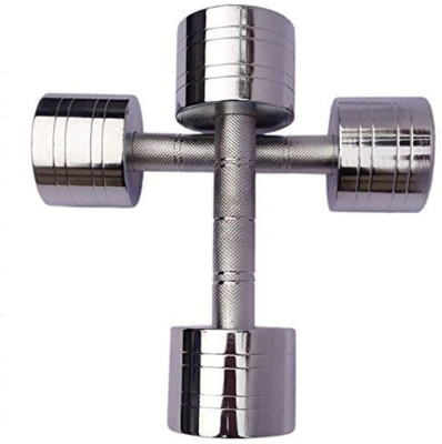 APPS SPORTS Steel Dumbell Set Home Gym Set Perfect for Build Muscles,with Hand Grip Fixed Weight Dumbbell(6 kg)