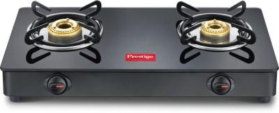 Prestige Magic Glass Manual Gas Stove(2 Burners)