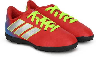 ADIDAS Boys Lace Football Shoes Red