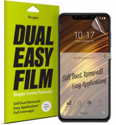 Ringke Screen Guard for POCO F1(Pack of 1)