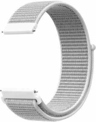 CellFAther Nylon Loop Band Wrist Watch Strap for Samsung Gear S2 20mm_Seashell (Watch Not Included) Smart Watch Strap(Grey)