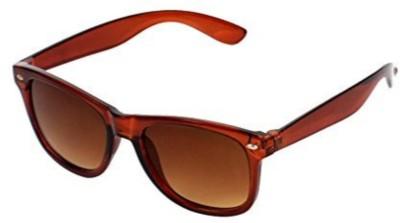 Riffko Wayfarer Sunglasses(Brown)
