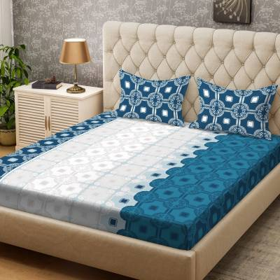 Bombay Dyeing 100 TC Cotton Double Printed Bedsheet