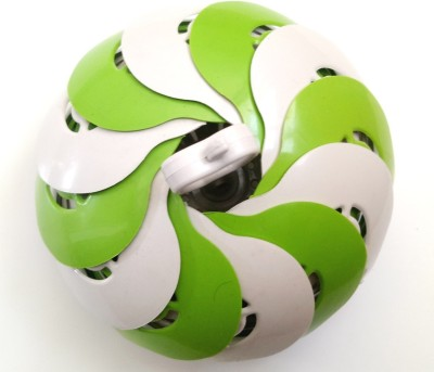 RSTC VEGETABLE OR FRUIT BASKET Plastic Fruit & Vegetable Basket(Green, White) at flipkart
