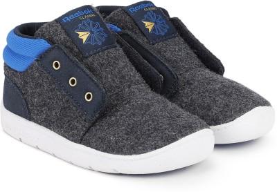REEBOK Boys   Girls Velcro Sneakers Grey REEBOK Casual Shoes