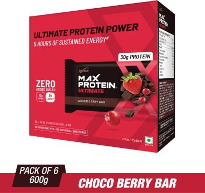 RiteBite Max Protein Professional Protein Bars(600 g, Choco Berry)