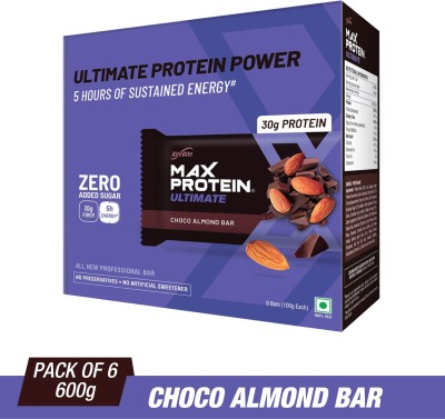 RiteBite Max Protein Ultimate Protein Bars(600 g, Choco Almond)