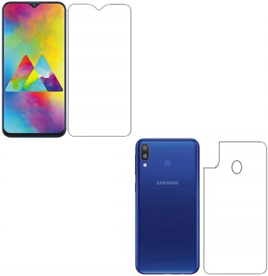 iKare Front and Back Screen Guard for Samsung Galaxy M20
