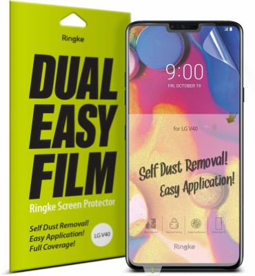 Ringke Screen Guard for LG V40 ThinQ(Pack of 1)