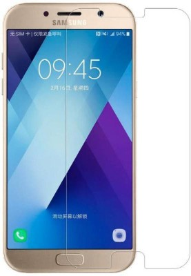 MOBIRUSH Tempered Glass Guard for Samsung Galaxy A3 2017(Pack of 1)