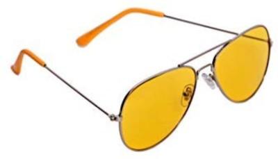 Riffko Aviator Sunglasses(Yellow)