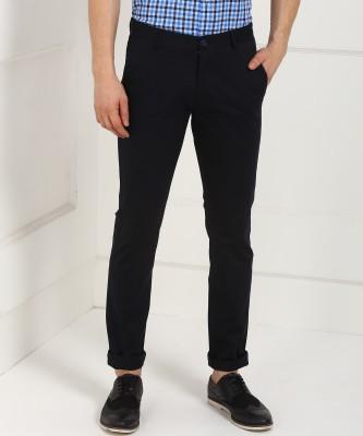 Numero Uno Slim Fit Men Blue Trousers