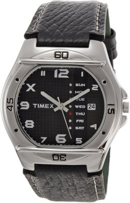 Timex EL03 Fashion Analog Black Dial Men's Watch (EL03)