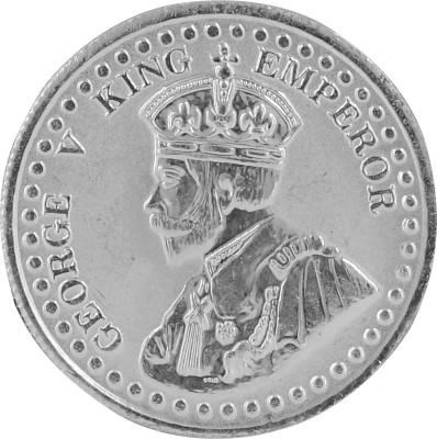 Aashirwad George King S 999 10 g Silver Coin
