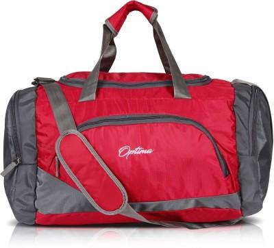 Optima Heavy Dutty Travel Duffel Bag Red Optima Duffel Bags