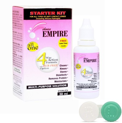 CHOICE EMPIRE Contact Lens Solution MULTI-PURPOSE SOLUTION(30 ml)