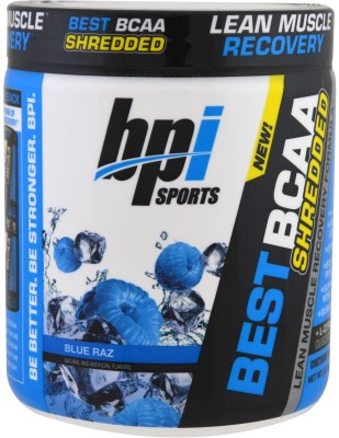 BPI Sports BEST BCAA SHREDDED BCAA(0.28 g, BLUE RAZ)