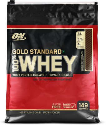 Optimum Nutrition Gold Standard 100% Whey Protein (4.53Kg, Chocolate)
