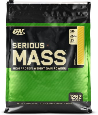 Optimum Nutrition Serious Mass (5.44Kg, Banana)