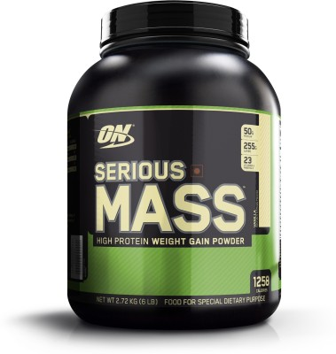 Optimum Nutrition Serious Mass (2.72Kg, Vanilla)